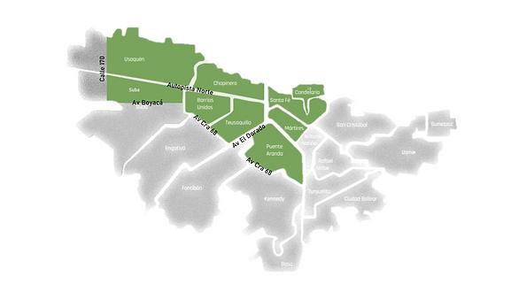 Mapa área de cobertura Kotahi