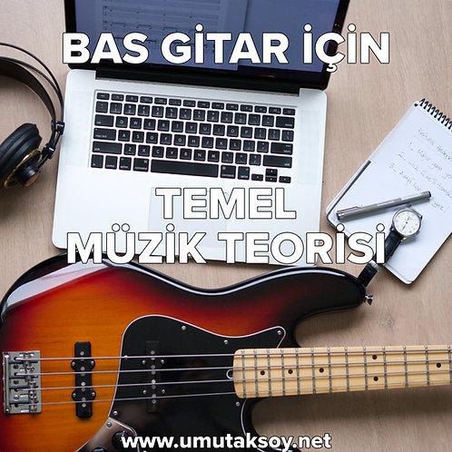 Bas Gitar İçin Temel Muzik Teorisi