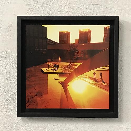 Euralille - photo encadrée en caisse américaine noire