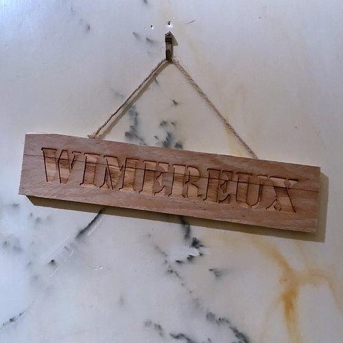 panneau bois recycle WIMEREUX
