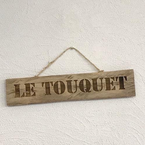 panneau bois recycle Le touquet