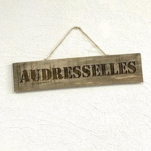 panneau bois recycle Audresselles