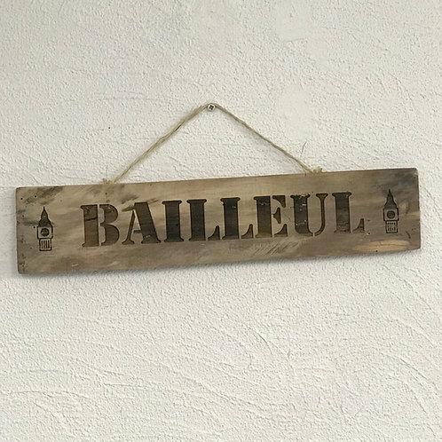 Panneau bois recyclé Balleuil
