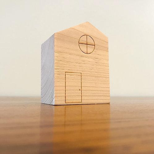 Maison Bois recyclé Minimaliste