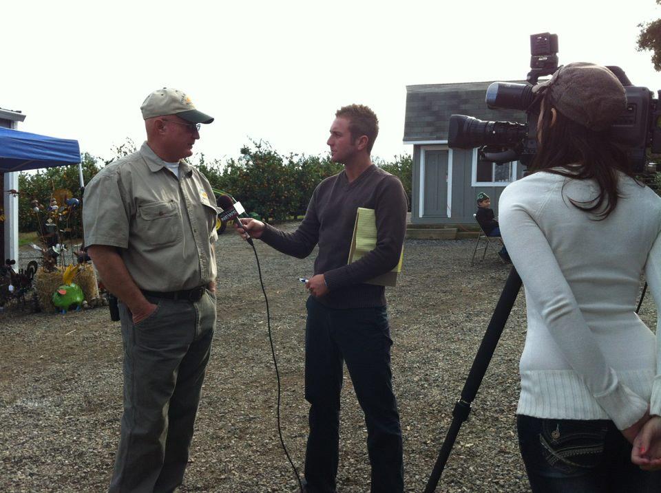 Farmer Lou makes the news
