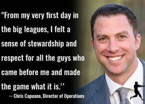 Former pitcher Chris Capuano appointed Director of Operations