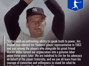 Players Association Remembers Jim Bouton
