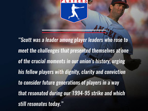 Players Association Remembers Scott Sanderson