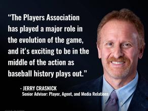 MLBPA hires Jerry Crasnick