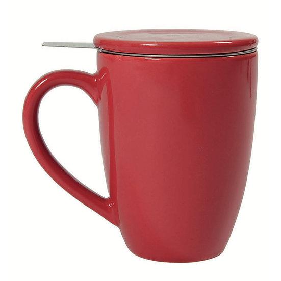 Tisanière rouge 0.50L