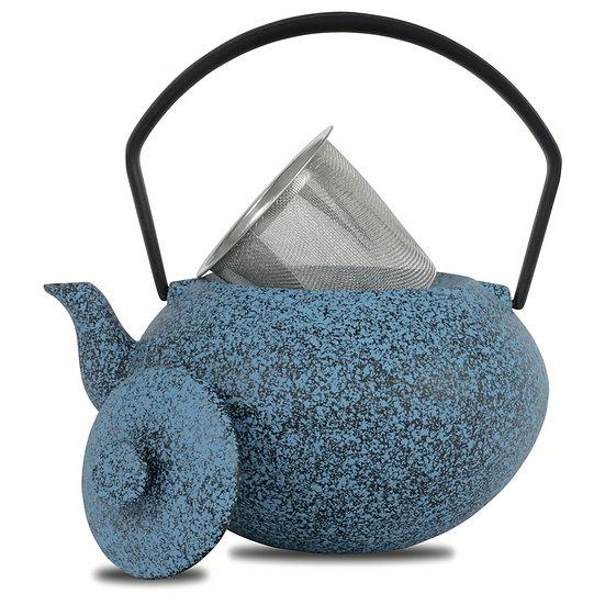 Théière Omaia bleu chiné 0,45L