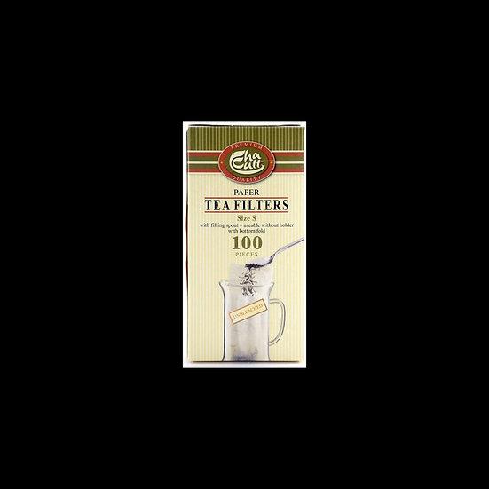 Petits filtres à thé 100pce