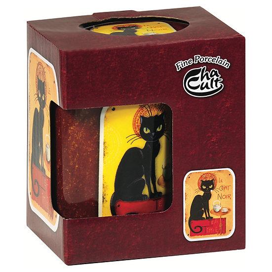 Tisanière Chat noir