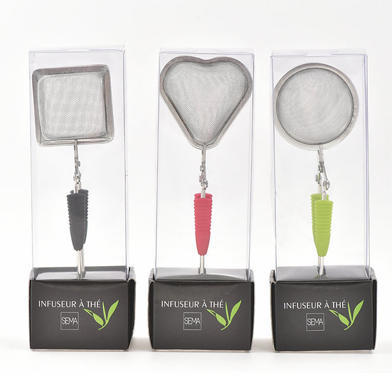 Lot de 3 infuseurs