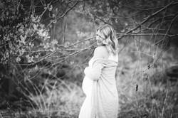 Fotoshooting Babybauch draussen