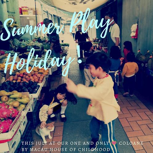 Summer Play Holiday at Coloane