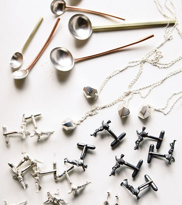 Paige Fountain Handcrafted Contemporary Jewellery | Whimsical sterling silver jewellery and objects, handcrafted in Hobart, Tasmania.