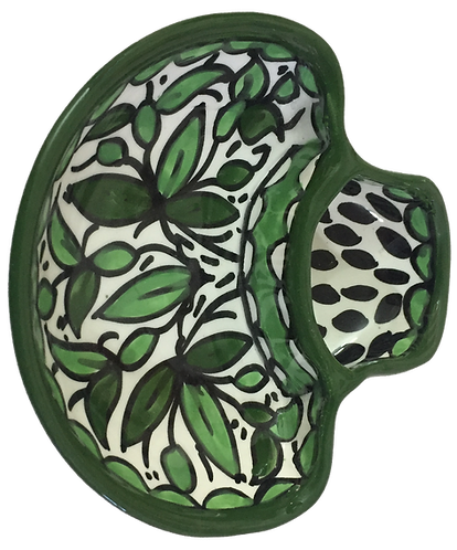 Olive Dish - round