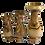 Thumbnail: Olive Wood Vases - Set of 3