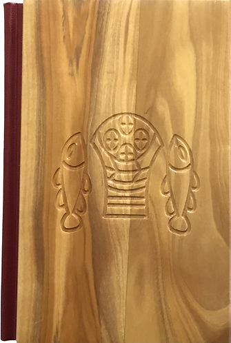 Spanish Bible Olive Wood Cover