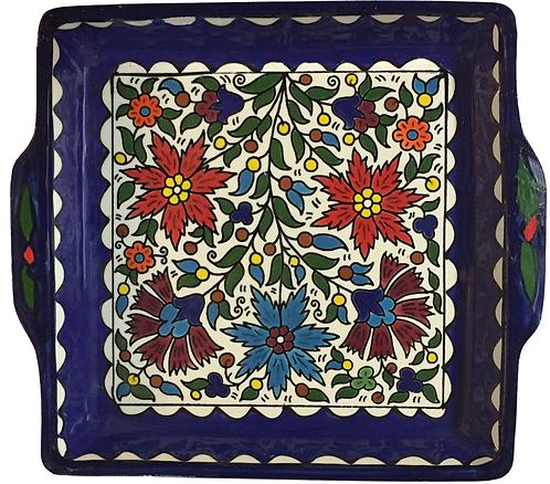 Square Ceramic Tray