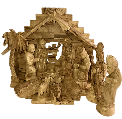 Nativity with Set of Separate Figures