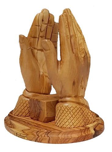 Praying Hands Book Stand