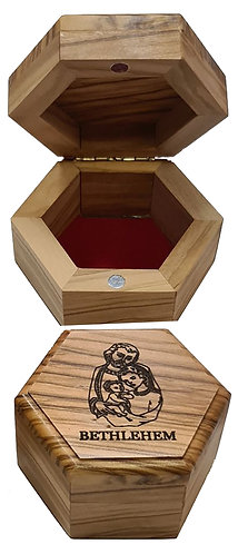 Hexagonal Jewelry Box