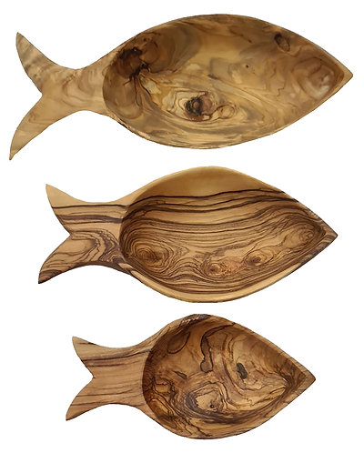 Set of 3 Fish Shaped Dishes