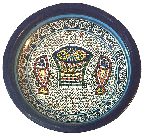 Small Condiment Dish - round