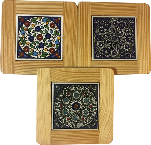 Set of 3 Mug Coasters