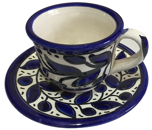 Small Coffee Cup & Saucer