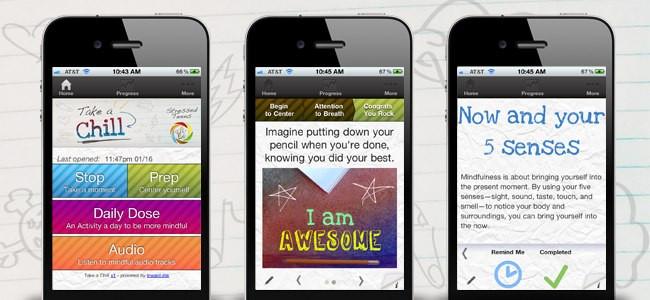 Stressed Teens app