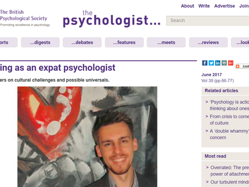 Working as an Expat Psychologist