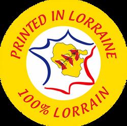 Imprimé en LORRAINE