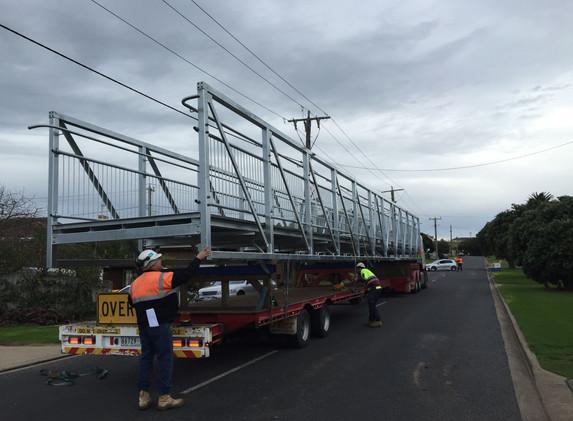 Wellington Street Bridge Install 4