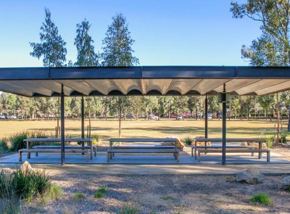 Parramatta Park Shelters