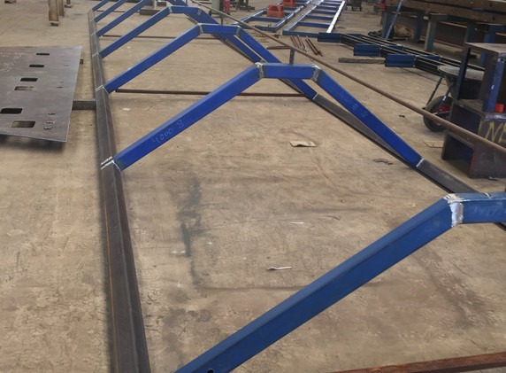 Chatswood Bridge Canopy Fabrication