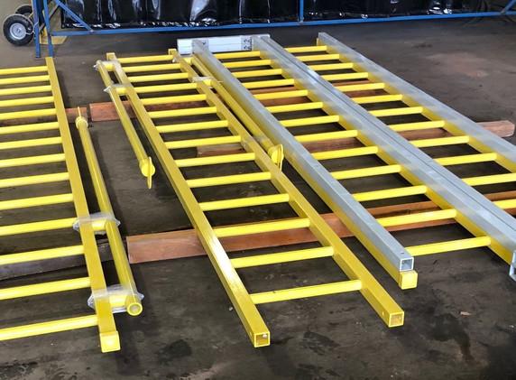 Scott Base Water Tank Ladders