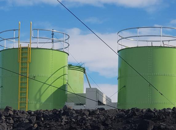 Scott Base Water Tanks