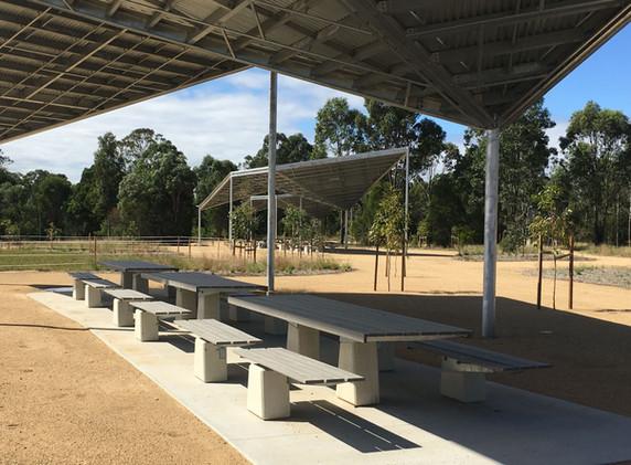 Bungaribee Park Shelters Picnic Seating
