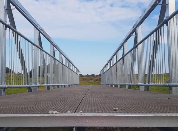 Merrivale Merri River Pedestrian Truss Bridge