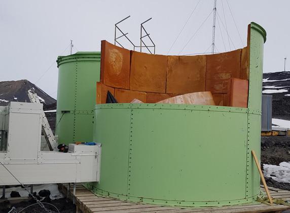 Scott Base - Existing Water Tank demolition