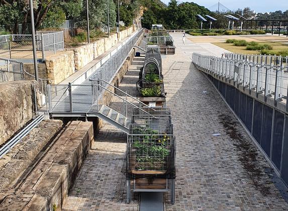 Waverton Coal Loader Handrails