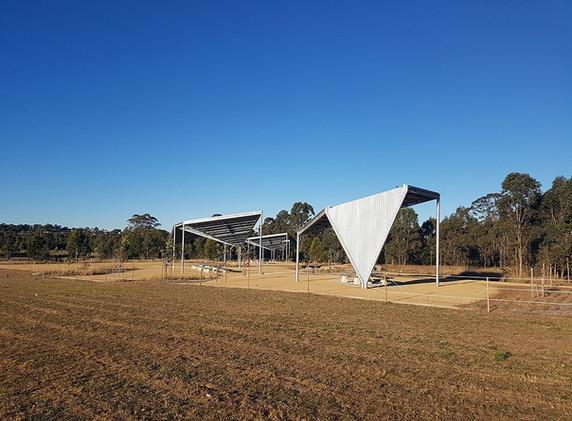 Bungaribee Park Shelters