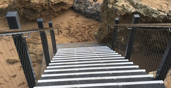 Moyjil Stairs After the Storm