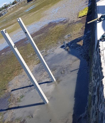 Port Albert Access Stairs Piling
