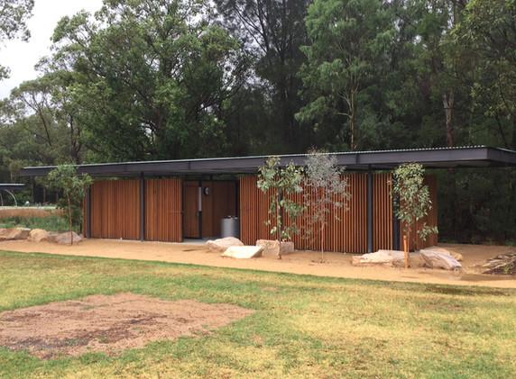 Parramatta Park Amenities