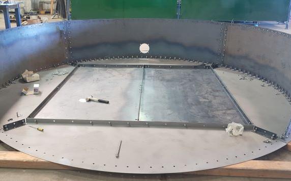 Scott Base Water Tank - Test build