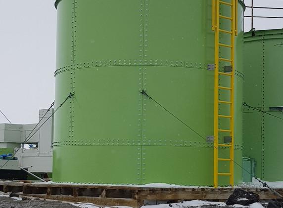 Scott Base Water Tank